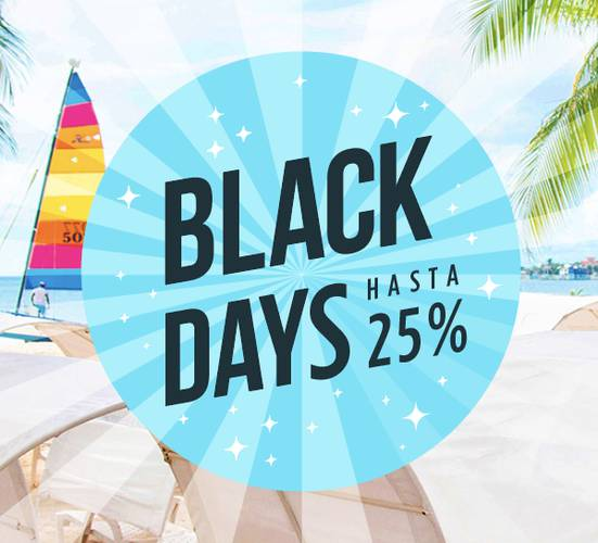 ¡Black Days! Solar Hoteles & Resorts