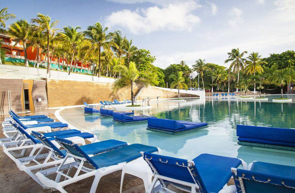 Outdoor swimming pool sol caribe campo hotel san andres island